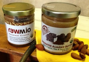 Rawmio and Dastony nut butters